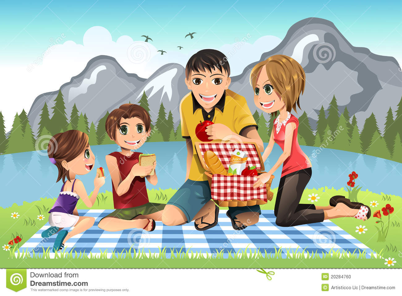 Family in the park clipart picture royalty free stock Family going to park clipart 11 » Clipart Station picture royalty free stock