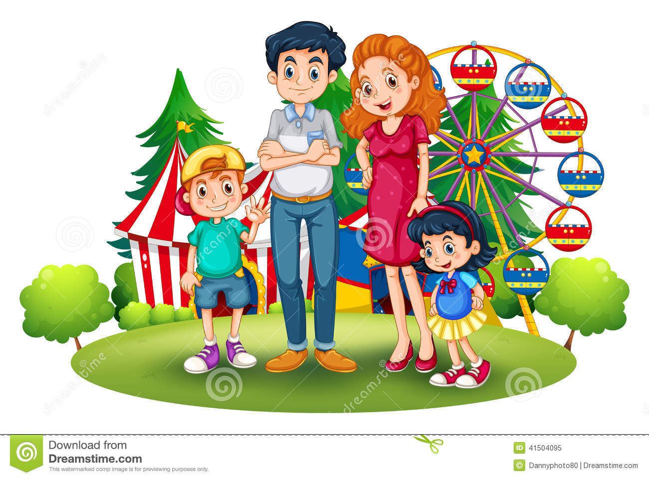 Family in the park clipart clip royalty free Family going to park clipart » Clipart Station clip royalty free