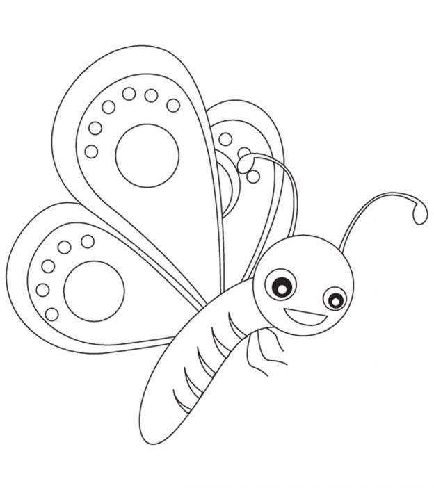 Family members clipart black and white trackid sp-006 image library download Top 50 Free Printable Butterfly Coloring Pages Online image library download