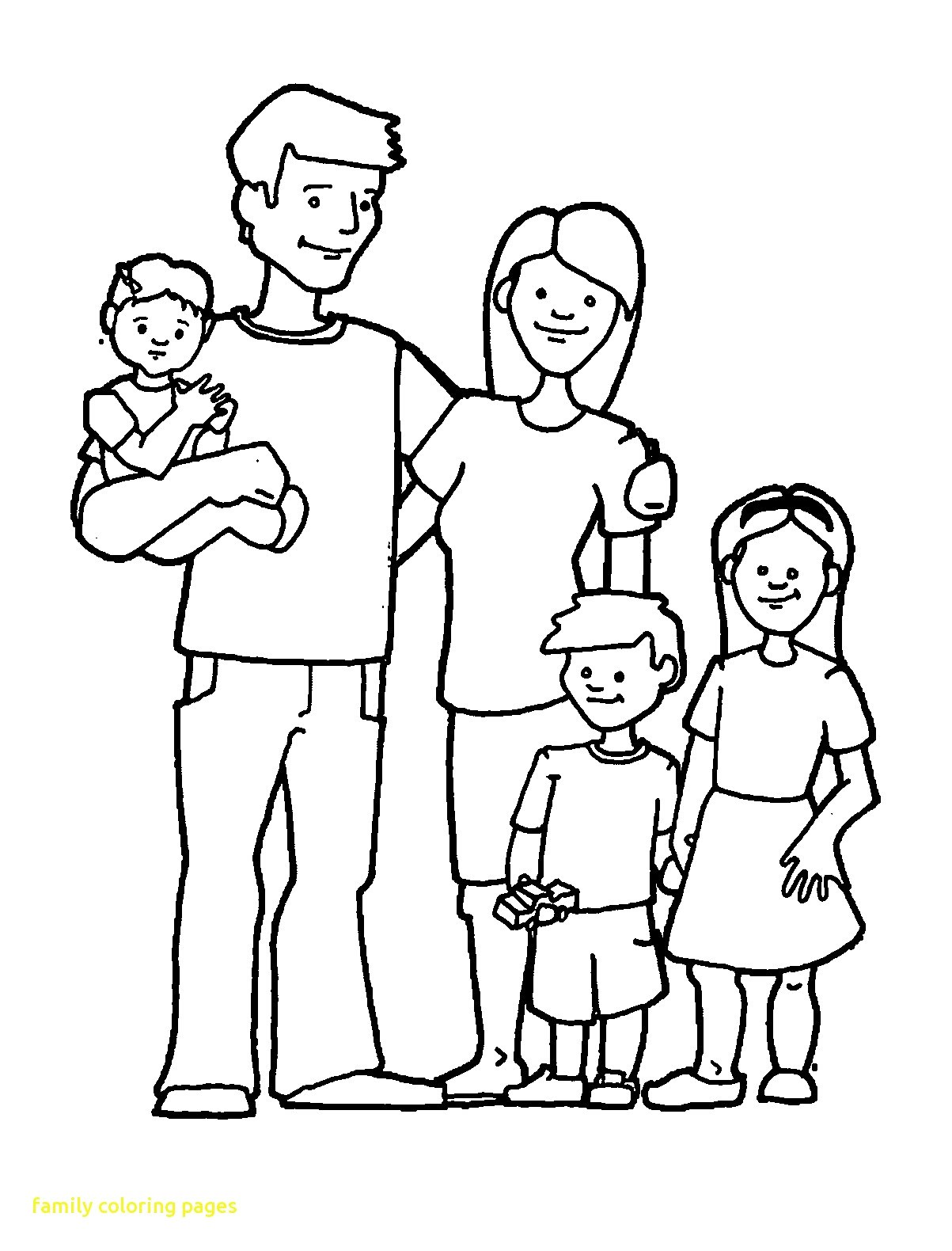 Family of 4 black and white clipart banner royalty free stock Joint family clipart black and white 4 » Clipart Portal banner royalty free stock