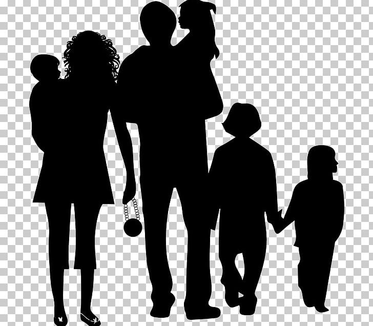 Family of 6 clipart black and white clipart royalty free stock Family Silhouette PNG, Clipart, Black And White, Child, Cizimler ... clipart royalty free stock