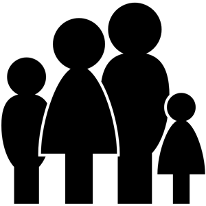 Family of four clipart picture freeuse download Family of Four clipart, cliparts of Family of Four free download ... picture freeuse download