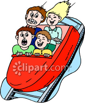 Family on a roller coaster clipart black and white royalty free stock Roller Coasters Clipart | Free download best Roller Coasters Clipart ... royalty free stock