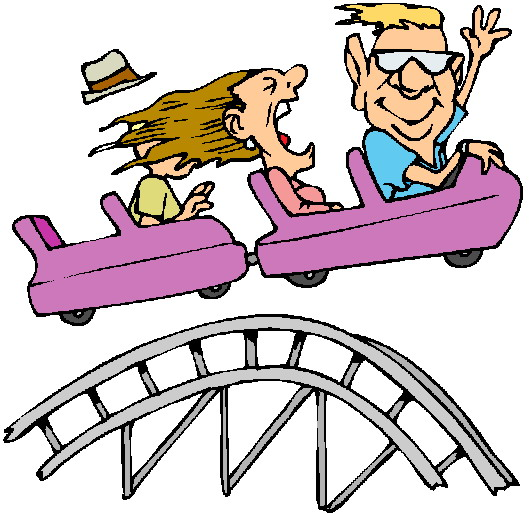 Family on a roller coaster clipart black and white png library Free Amusement Park Clipart, Download Free Clip Art, Free Clip Art ... png library
