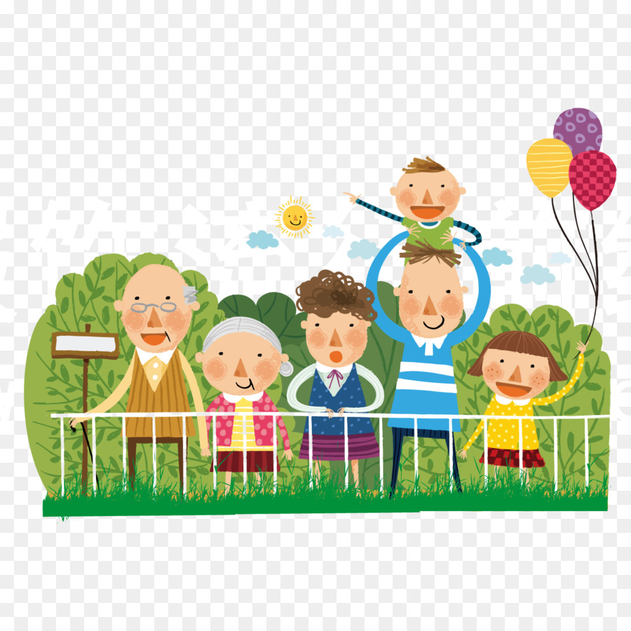 Family outing clipart svg royalty free stock Download Free png Cartoon Download Illustration Family outing png ... svg royalty free stock
