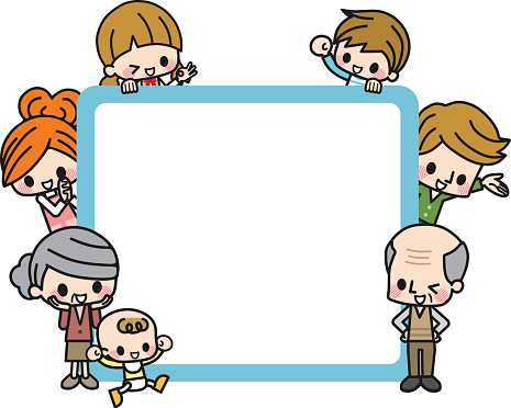 Family photo frames clipart transparent stock Free Family Frame Cliparts, Download Free Clip Art, Free Clip Art on ... transparent stock
