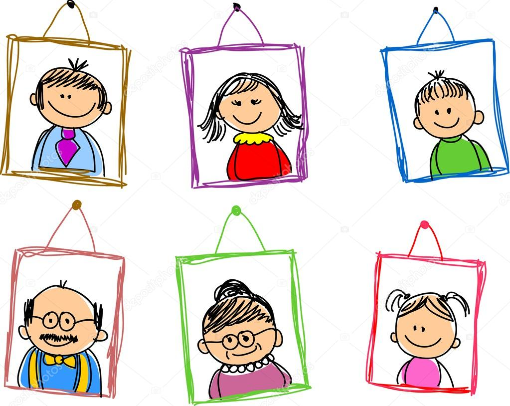 Family photo frames clipart banner free library Family picture frame clipart 14 » Clipart Station banner free library