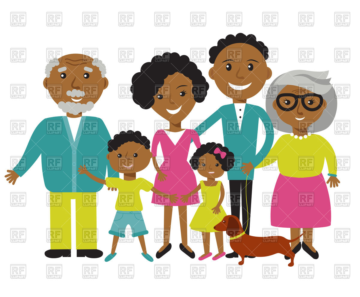 Family photos clipart picture freeuse Extended Family Clipart | Free download best Extended Family Clipart ... picture freeuse