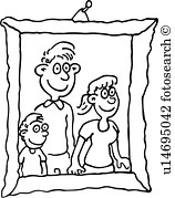 Family picture framed clipart black and white clip art transparent download Family picture frame clipart black and white 5 » Clipart Portal clip art transparent download