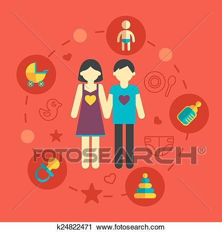 Family planning clipart