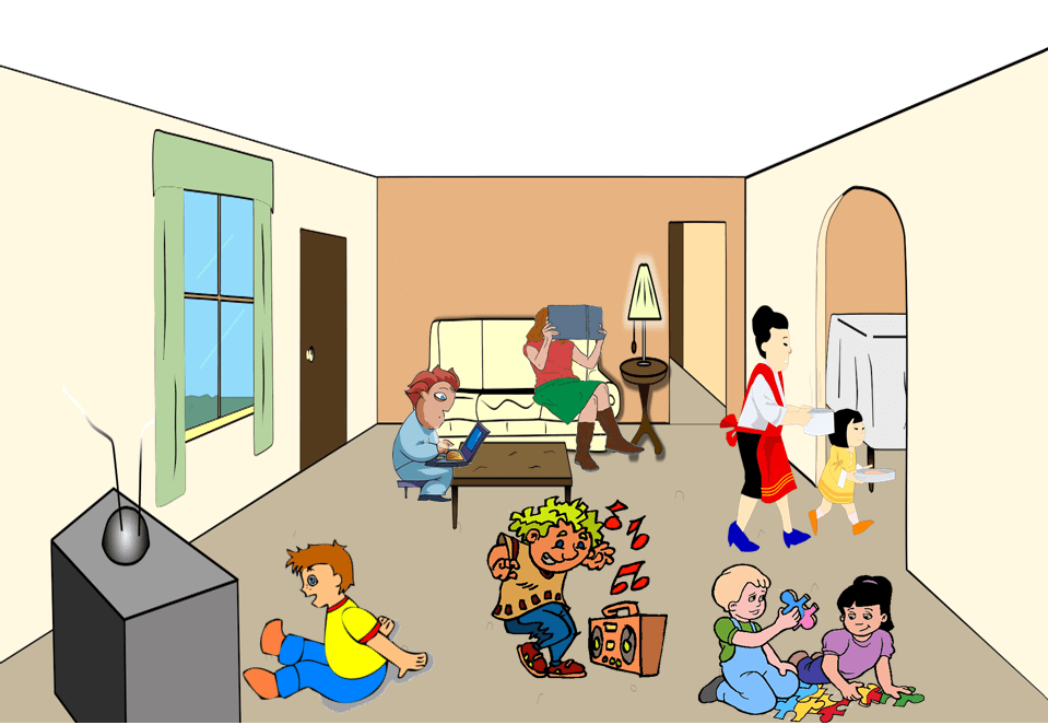 Family room clipart picture download Rooms Cliparts - Cliparts Zone picture download