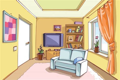 Family room clipart jpg freeuse library Living Room Clipart Cleaning House Pencil And In Color, Family Room ... jpg freeuse library