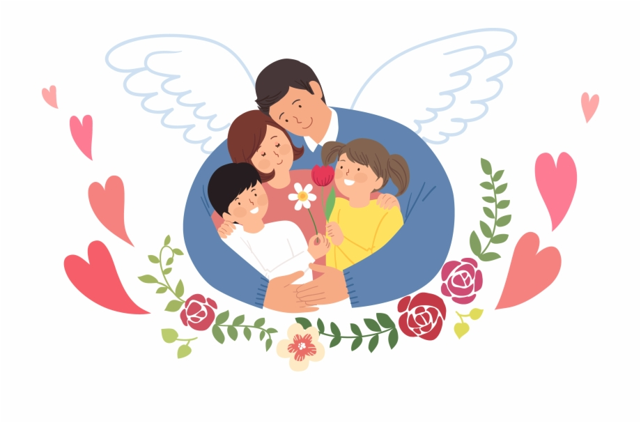 Family that i love clipart picture royalty free Love Clip Family - Family Loving Each Other, Transparent Png ... picture royalty free