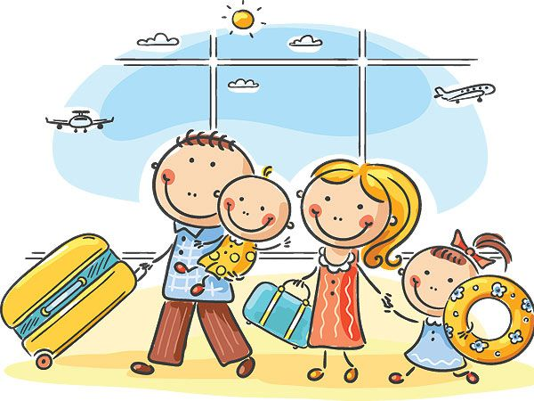 Family travel clipart png royalty free stock Great Ideas! 10 Apps That Make Family Travel a Breeze | TRAVEL ... png royalty free stock