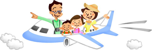 Family travel clipart graphic transparent library Family travel clipart clipart images gallery for free download ... graphic transparent library