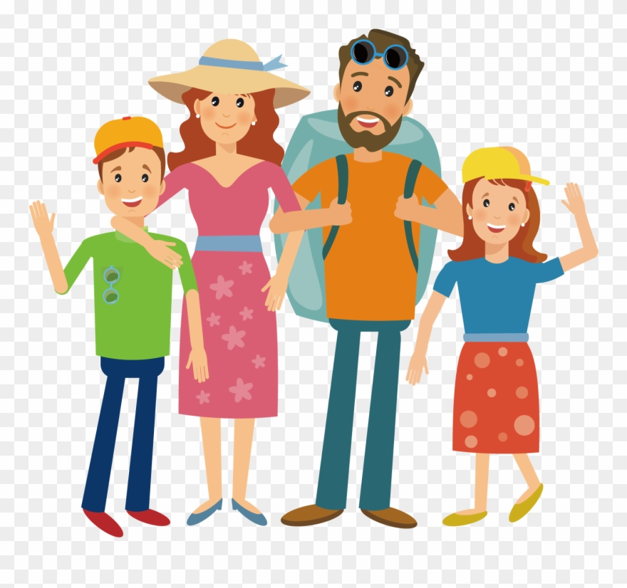 Family travel clipart clip art royalty free Camping Hiking Illustration Travel Transprent Png Free - Cartoon ... clip art royalty free