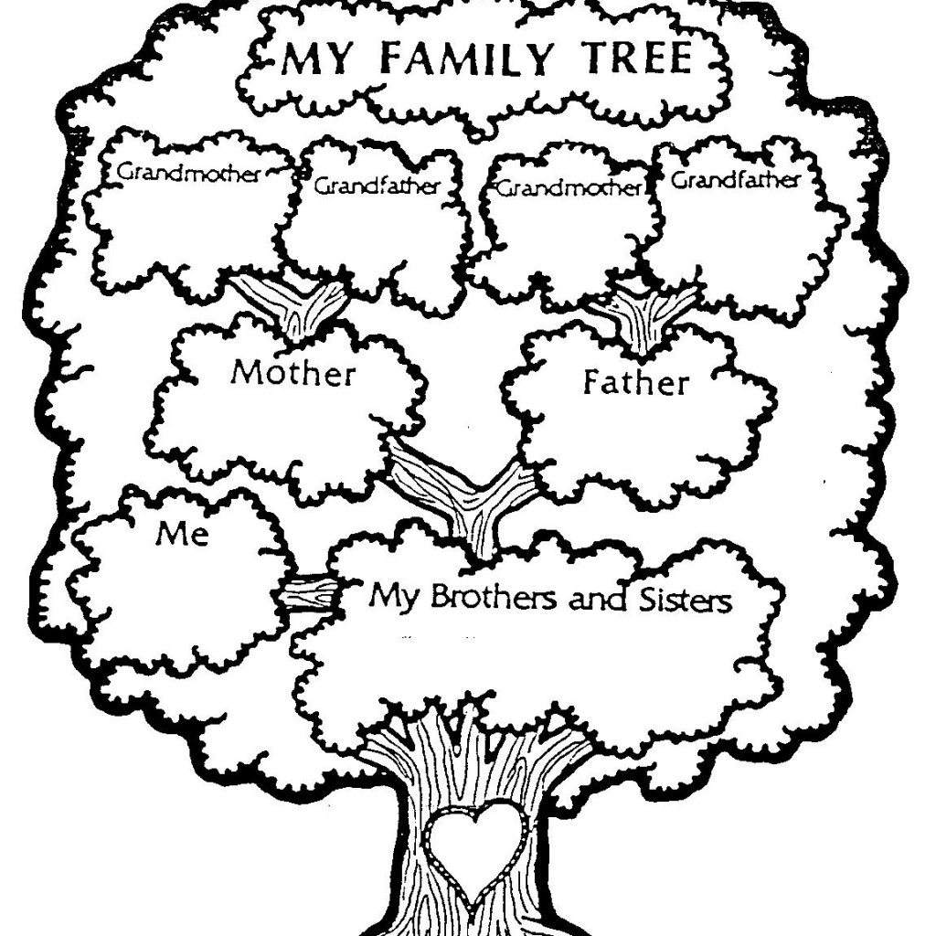 Family tree clipart in black and white svg black and white library My family tree clipart 2 – Gclipart.com svg black and white library