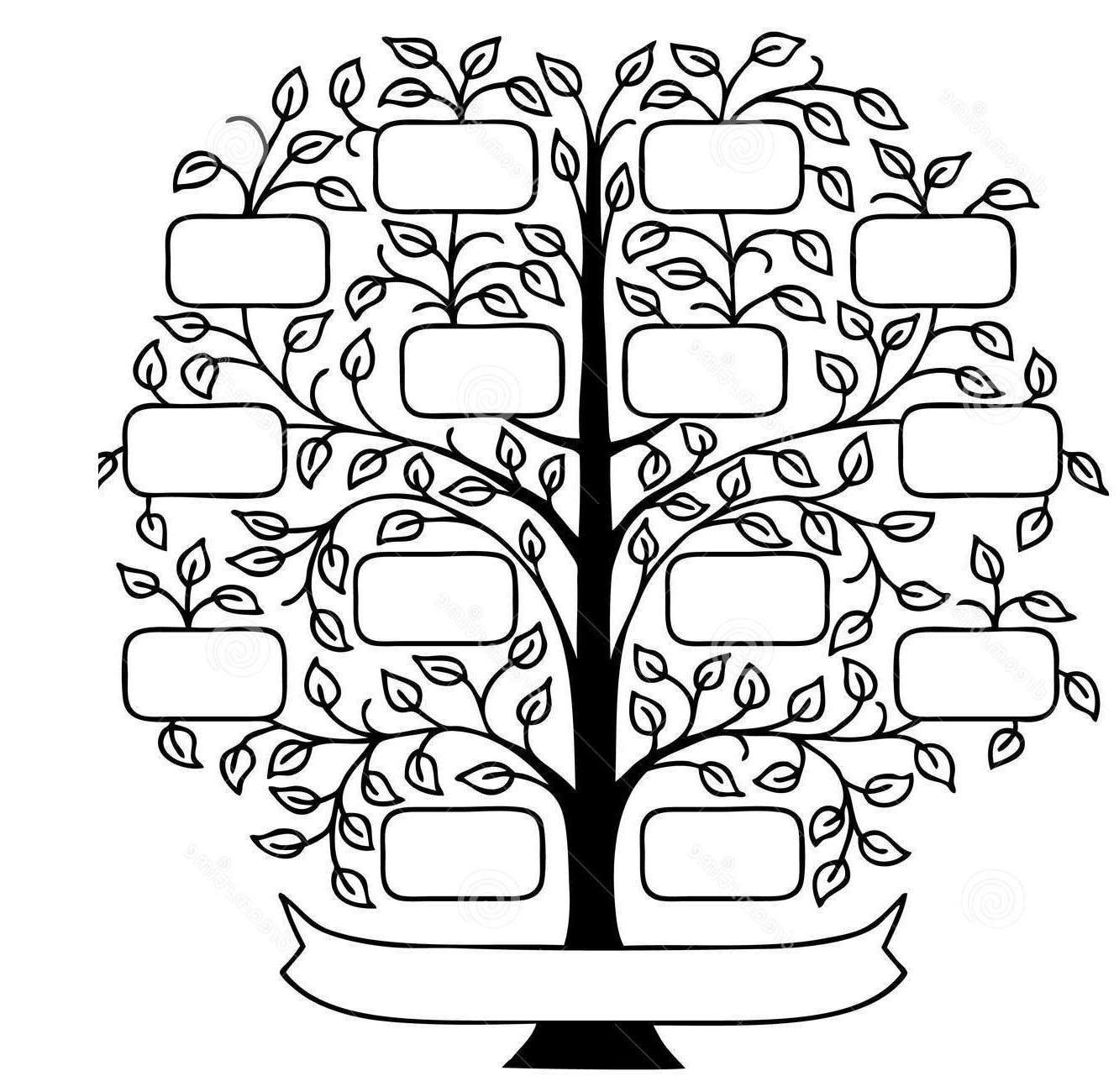 Family tree clipart in black and white clip library library Awesome Family Tree Clipart Pictures Black And - Clipart1001 - Free ... clip library library