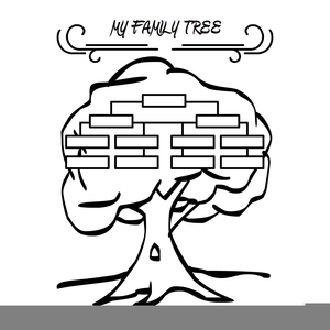 Family tree clipart in black and white clip free library Family Tree Clipart Black And White | Free Images at Clker.com ... clip free library