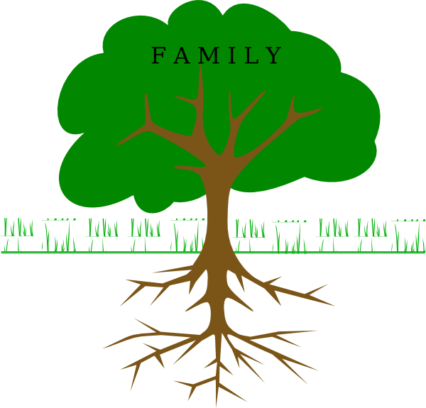 Family tree vector clipart clipart freeuse download Images of Big Family Tree Clipart - #SpaceHero clipart freeuse download