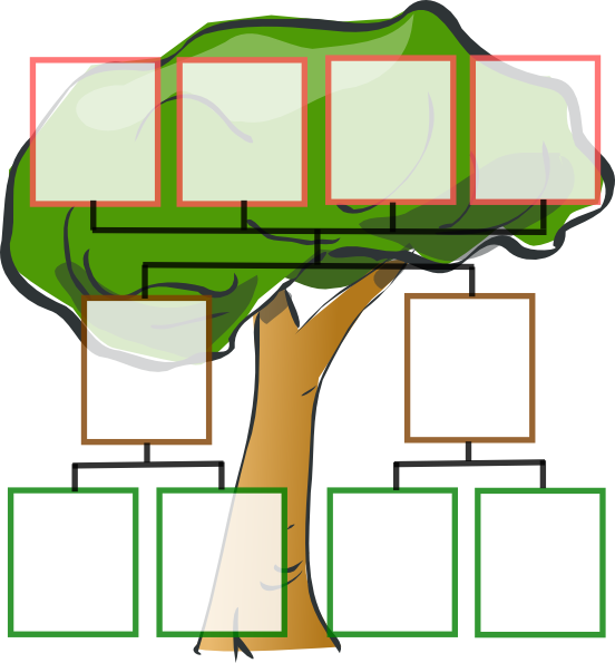 Family tree with cross clipart free download Family Tree - 3-generation | Tree | Pinterest | Family trees, Tree ... free download