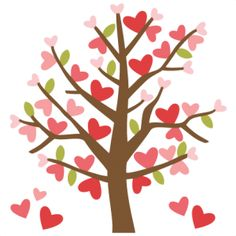 Family tree with hearts clipart banner download Heart Family Tree Clip Art | Clipart Panda - Free Clipart Images banner download