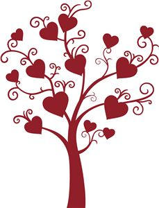 Family tree with hearts clipart image library Family tree with hearts clipart - ClipartFest image library
