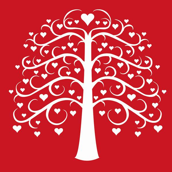 Family tree with hearts clipart png royalty free download Family tree with hearts clipart - ClipartFox png royalty free download