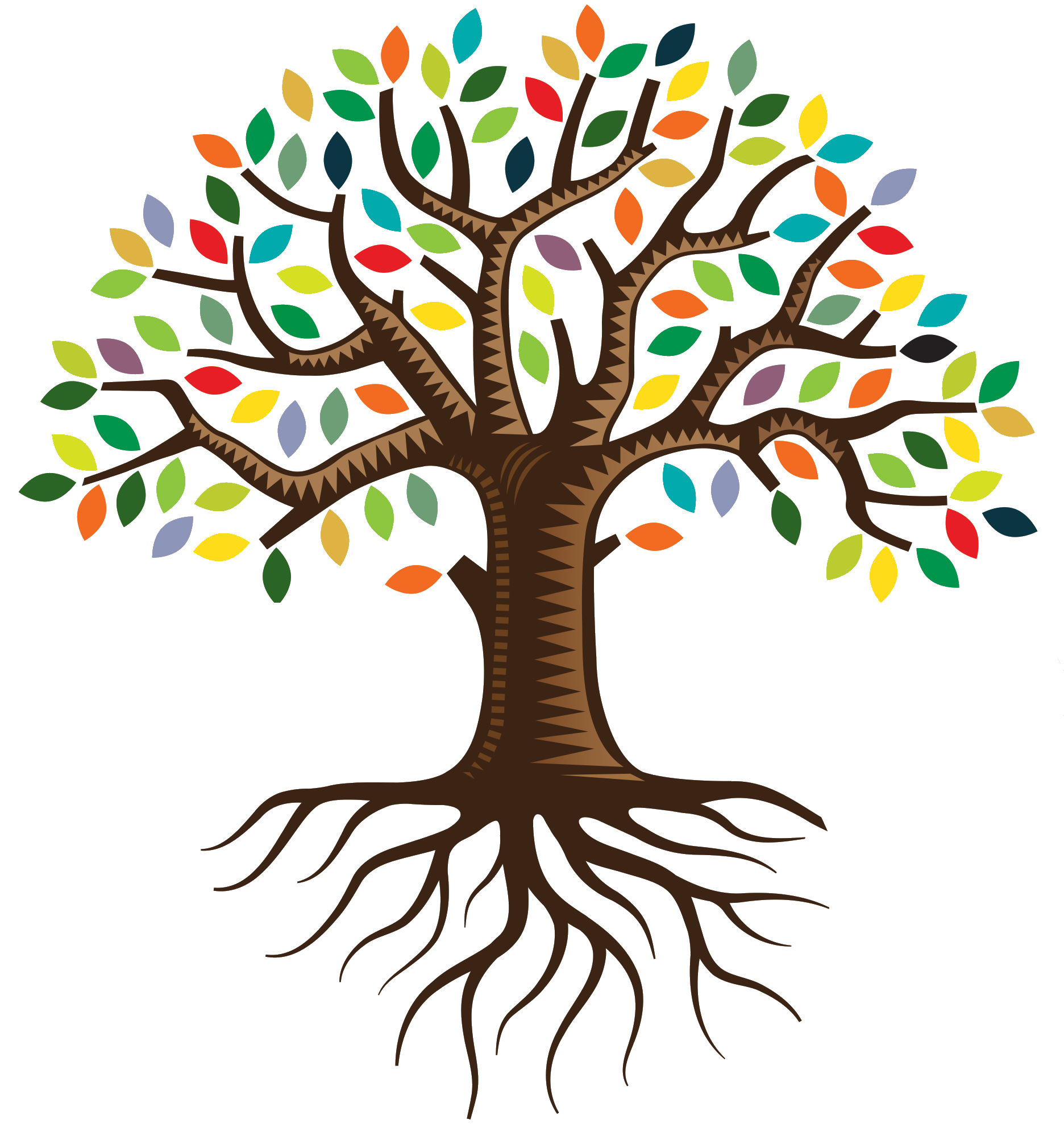 Tree of life clipart png transparent download Root QC Family Tree Logo Clip art - family tree 1872*1991 transprent ... png transparent download