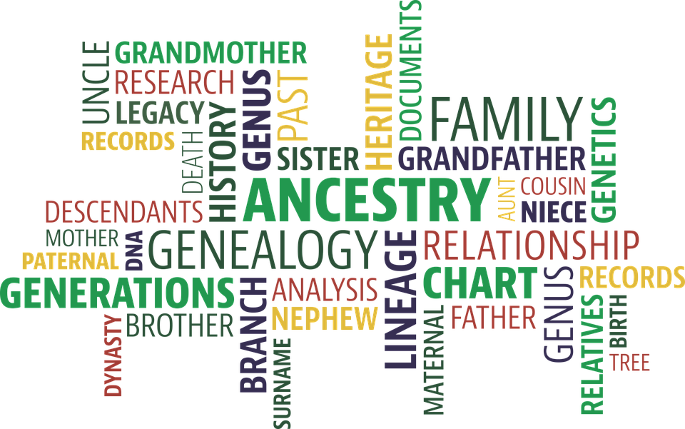 Family tree word clipart jpg black and white download The Family History Guide jpg black and white download