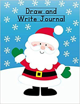 Family winter clipart for writing black and white stock Draw and Write Journal: Christmas Composition Notebook for Kids ... black and white stock