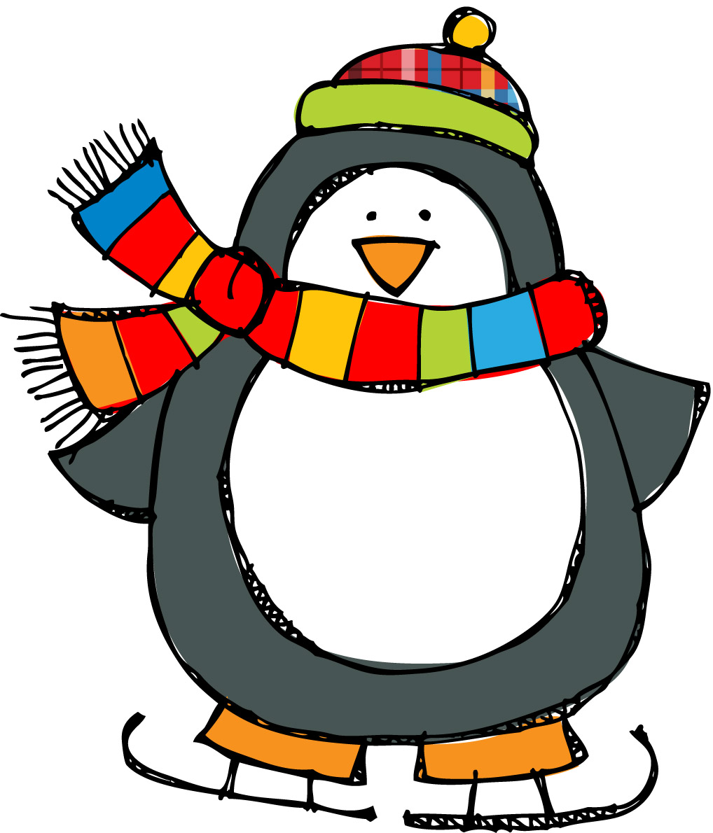 Free clipart for january. Penguin poems panda images