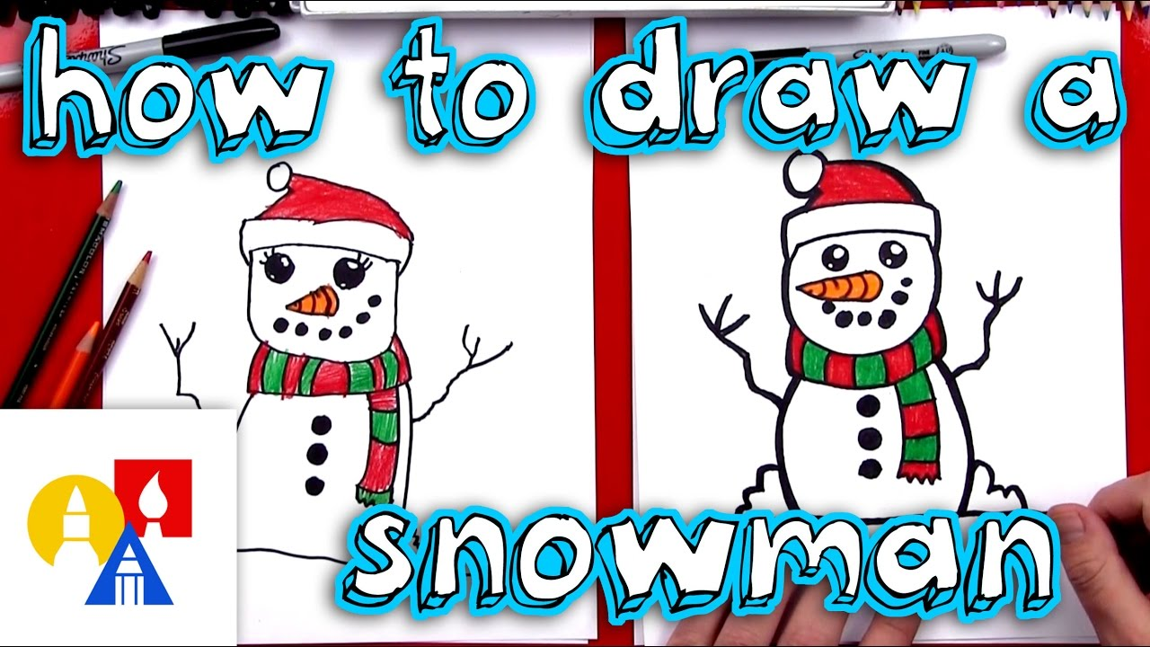 Family winter clipart for writing clip stock How To Draw A Snowman clip stock