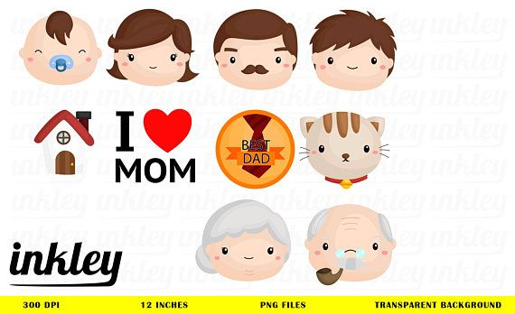 Family with baby clipart svg transparent download Family Icon Clipart, Family Icon Clip Art, Family Icon Png, Mom and ... svg transparent download