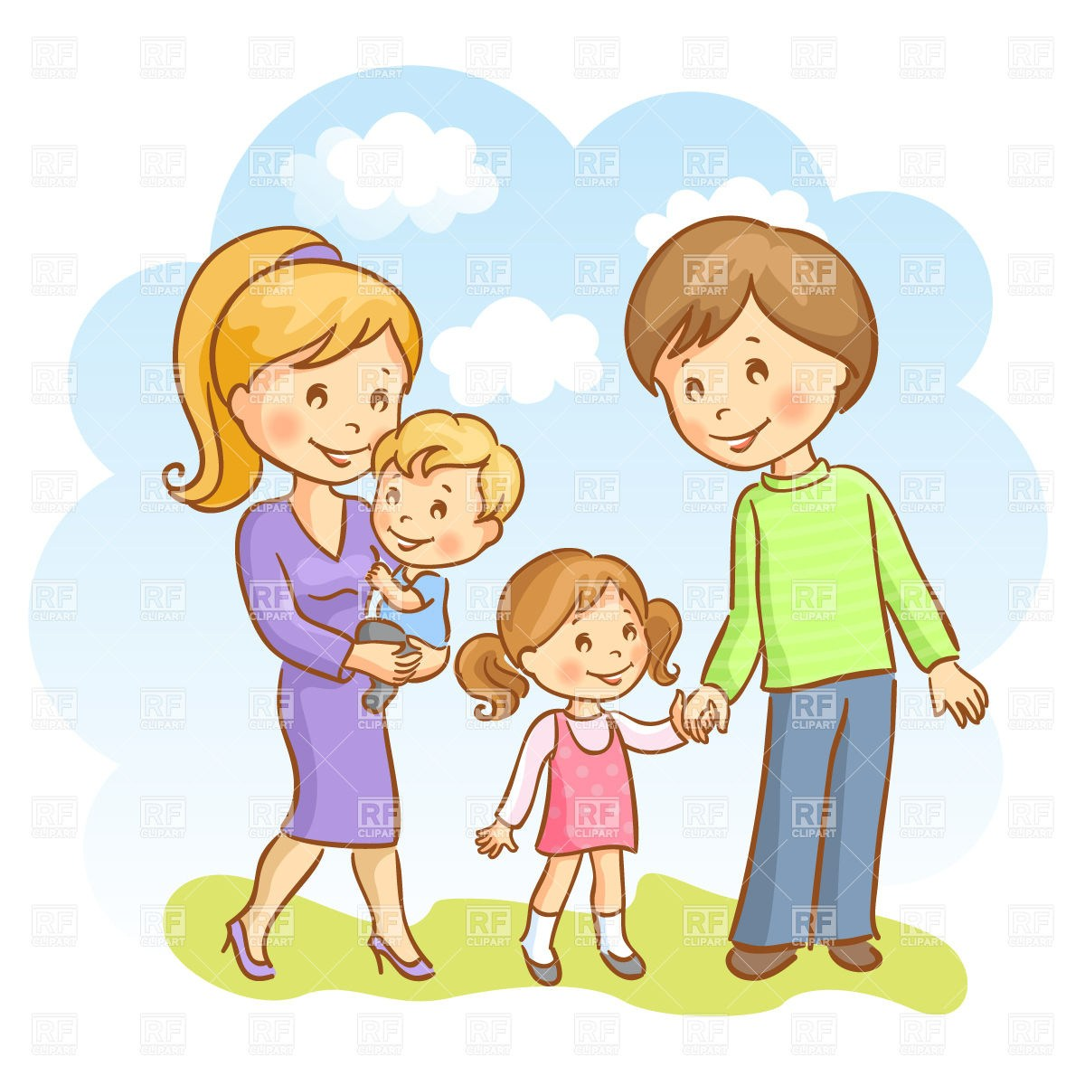 Family with baby clipart png royalty free Family with baby clipart 8 » Clipart Portal png royalty free