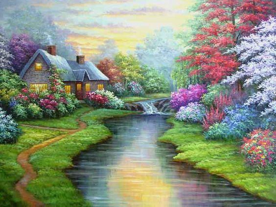 Famous artwork clipart picture stock Landscape art, landscape clip art, abstract paintings ... picture stock