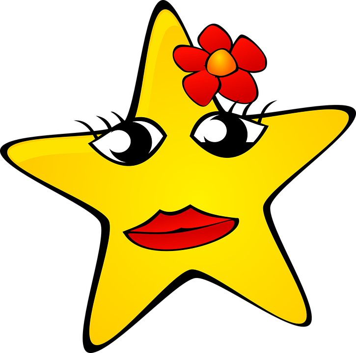 Sheriff star clipart clipart free Cartoon Stars Clipart (57+) clipart free