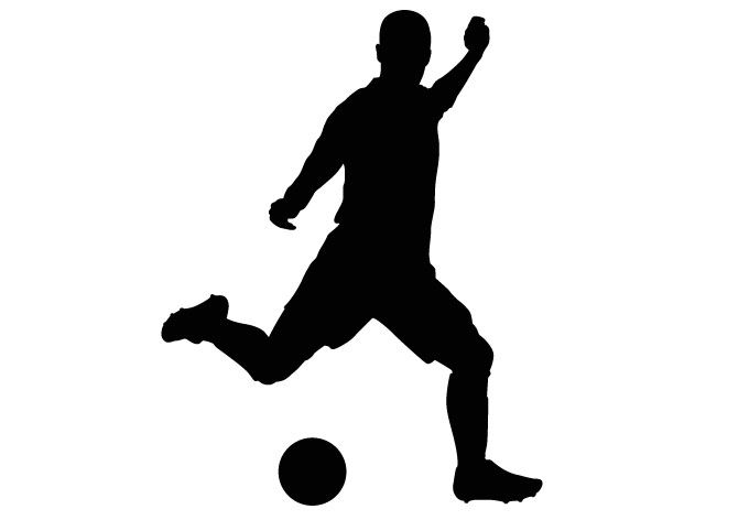 Soccer clipart free kick svg transparent stock Sports - | OLSM Auction Decor | Soccer players, Soccer, Soccer banquet svg transparent stock