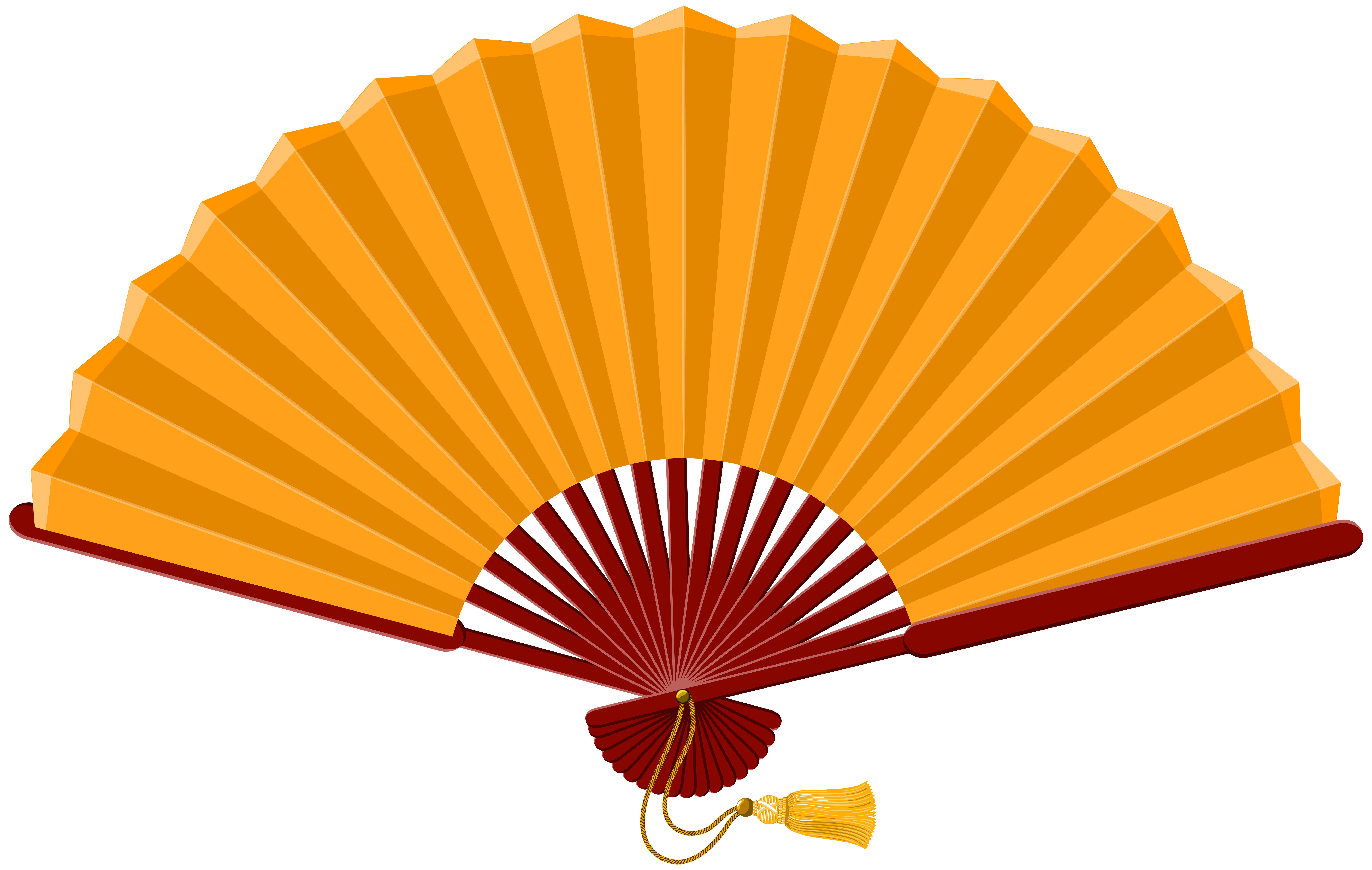 Fan clipart images svg transparent library Chinese Fan PNG Clip Art - Best WEB Clipart svg transparent library