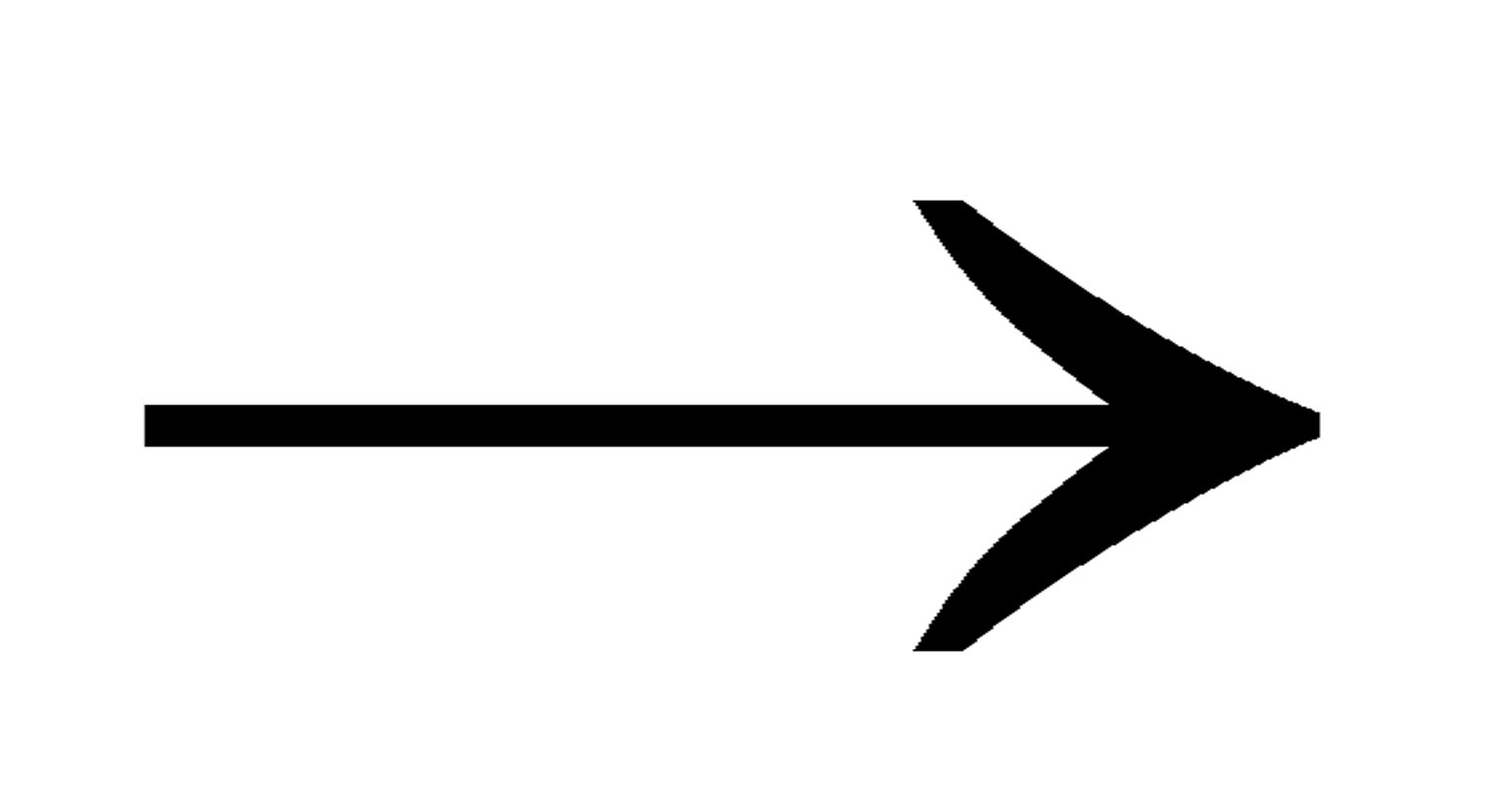 Fancy arrow black clipart - ClipartFest clipart stock