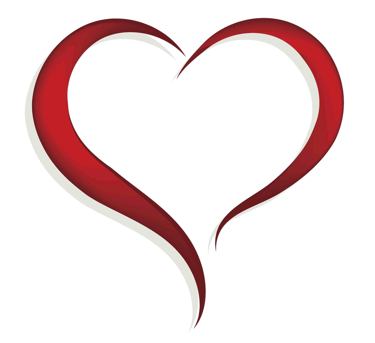 Heart outline clipart free clip library library Heart clipart - Clipground clip library library