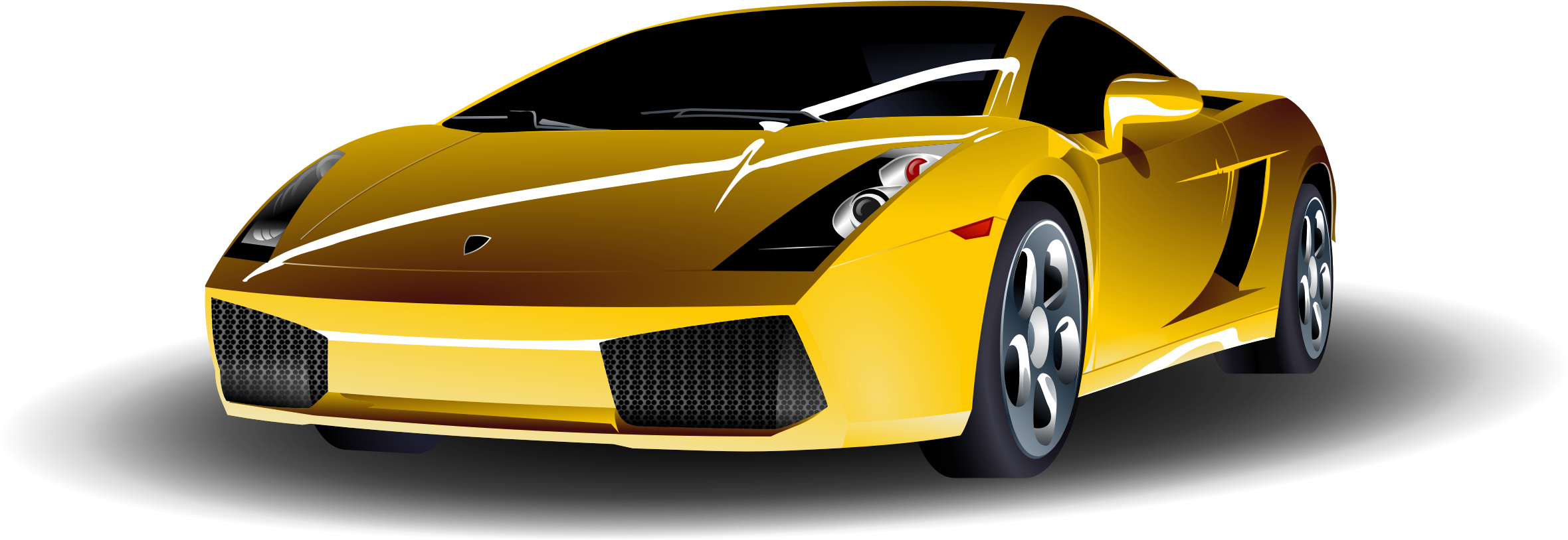 Fancy car clipart black and white 28+ Collection of Yellow Sports Car Clipart | High quality, free ... black and white