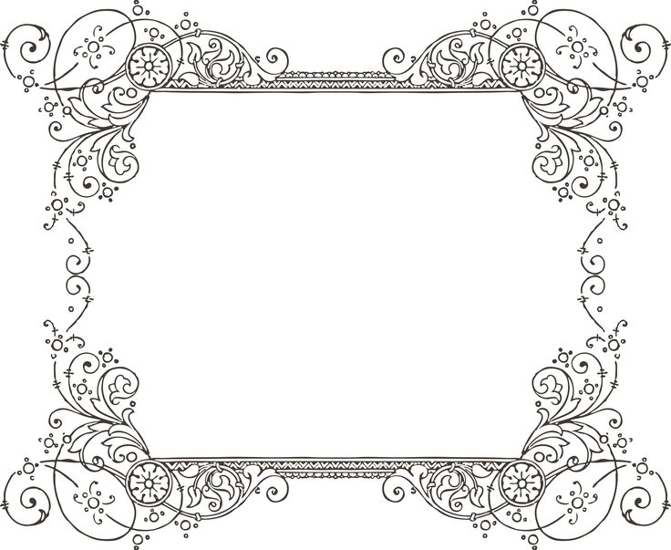 Fancy clipart borders banner freeuse download Fancy Borders For Word Documents | Free Download Clip Art | Free ... banner freeuse download