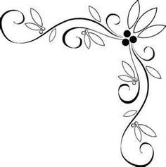 Fancy clipart borders clipart freeuse stock Free vintage clip art images: Calligraphic frames and borders ... clipart freeuse stock