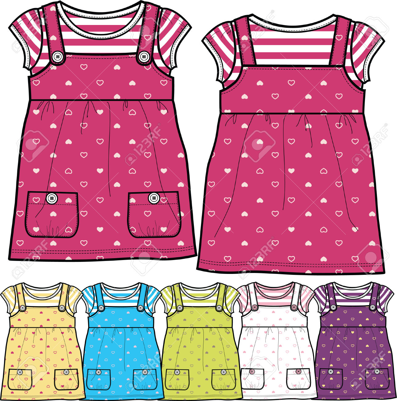 Fancy clothes clipart dress jpg library download Girl Fancy Tops Royalty Free Cliparts, Vectors, And Stock ... jpg library download