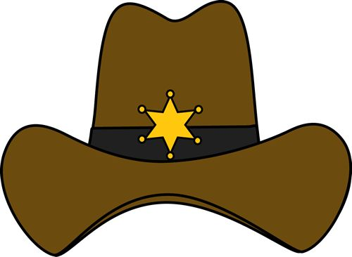 Fancy cowboy hat clipart jpg library Sheriff Cowboy Hat | TEXAS | Pinterest | Crafts, Kid and Search jpg library