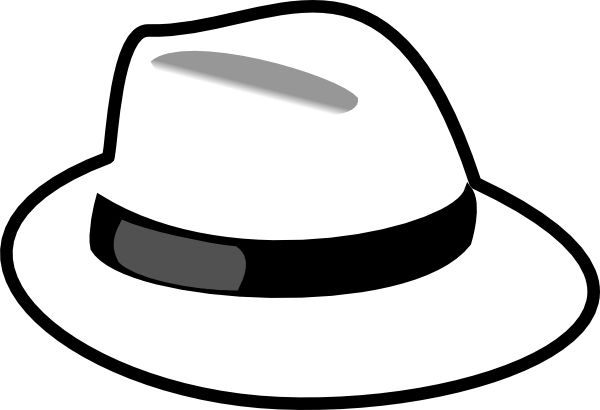 Hat Clipart Black And White & Hat Black And White Clip Art Images ... banner library download