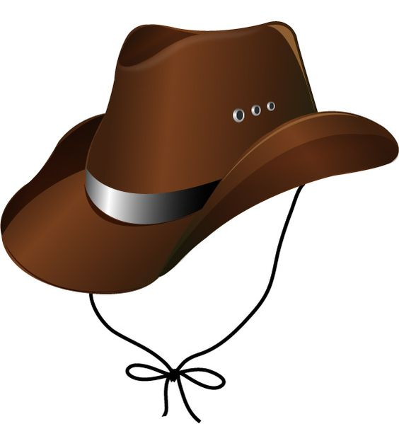 Draw a Cowboy Hat in Adobe Illustrator CS3 | Adobe, To draw and ... clip library download