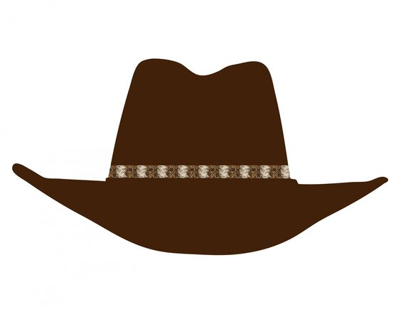 Cowboy Hat Clip-art | Bryce's 6th Birthday | Pinterest | Cowboy ... banner freeuse library