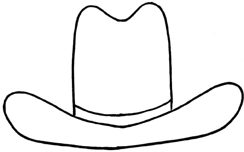 Fancy cowboy hat clipart vector transparent Cowgirl Hat Clipart | Free Download Clip Art | Free Clip Art | on ... vector transparent
